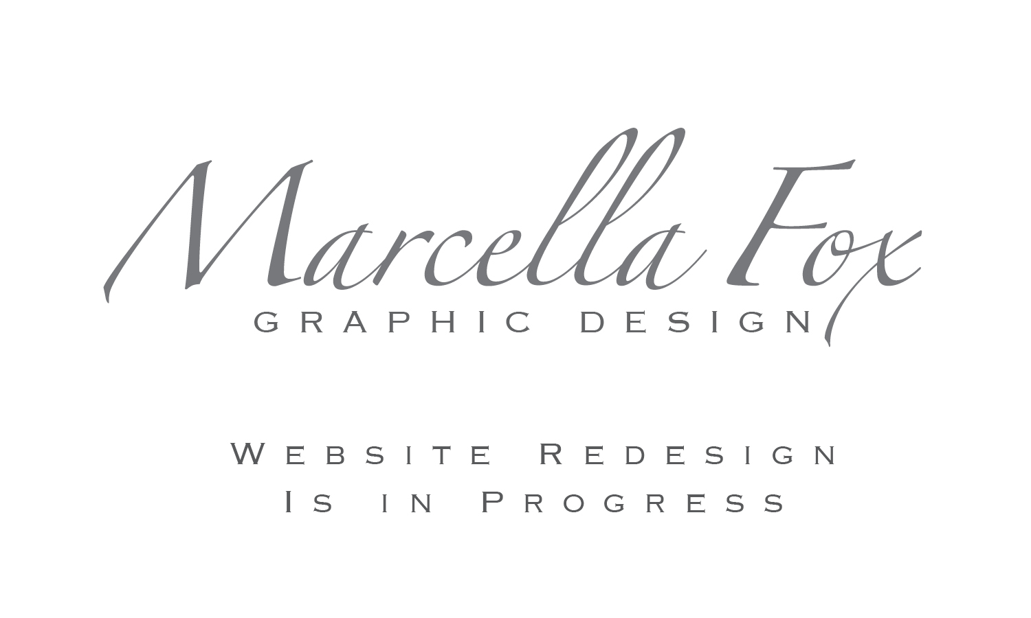 Marcella Fox Graphic Design (logotype)